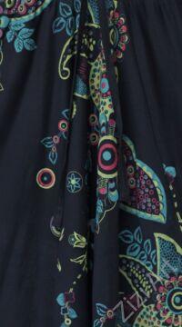 pamut, aladdin, nadrág, virág, mintás, kék, türkiz, zöld, fekete, színes, pamut, bő, lezser, Nepál, női, divat, trend, egyedi, extravagáns, bohém