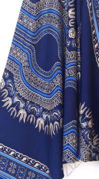 aladdin, nadrág, kék, bézs, mandala, mintás, kényelmes, bő, szellős, viszkóz, bohém, extravagáns, különleges, Thaiföld, női, divat, trend