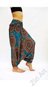 gyerek, viszkóz, bő, szellős, nadrág, kényelmes, bohém, egyedi, extravagáns, ruha, nyári, divat, türkizkék, sárga, bordó, trend