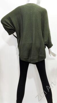 színes, sötét, zöld, kötött, pulóver, hosszú, esernyő, mintás, pulcsi, háromnegyedes, ujjú, kerek, nyakú