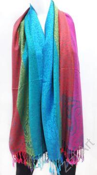 nagy, pashmina, gyapjú, selyem, sál, sálkendő, poncsó, színes, pink, lila, arany, kék, zöld, narancs, zöld, mintás, nepáli