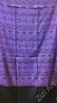 nagy, pashmina, gyapjú, selyem, sál, sálkendő, poncsó, színes, fekete, mintás, lila, nepáli