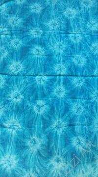 sarong, kék, színes, kendő, sál, strandkendő, pareo, csíkos, mintás, batikolt