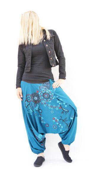 c2cd6c2375 pamut, aladdin, nadrág, fekete, piros, kék, virágos, divat,