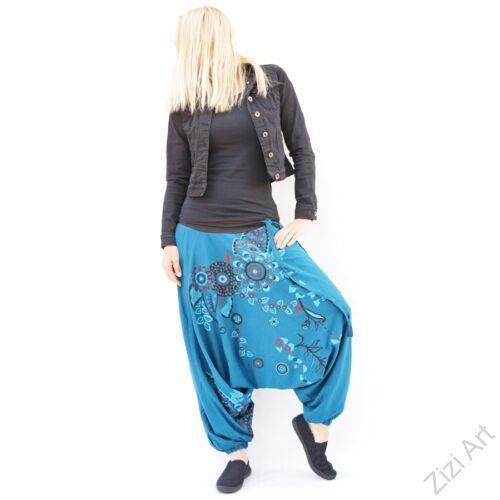 pamut, aladdin, nadrág, fekete, piros, kék, virágos, divat, trend, bő, szárú, kényelmes, egyedi, extravagáns, Nepál