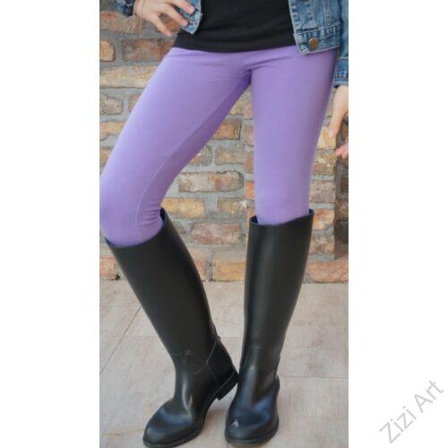lila, 98, 104, gyerek, leggings, cicanaci, cicanadrág, nadrág, téli, meleg, bolyhos, pamut, hosszú szár, elasztikus, rugalmas