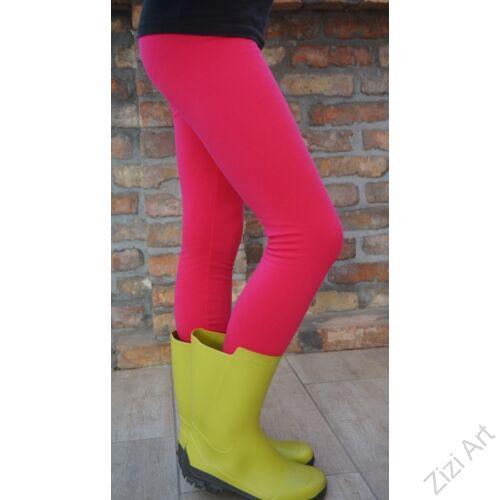 pink, ciklámen, rózsaszín, 98, 104, gyerek, leggings, cicanaci, cicanadrág, nadrág, téli, meleg, bolyhos, pamut, hosszú szár, elasztikus, rugalmas