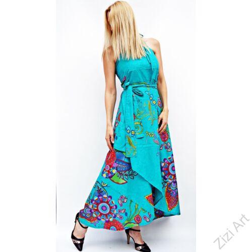 piros, zöld, lila, szürke, hosszú, pamut, ruha, Nepál, átlapolt, lapruha, bő, színes, körös, megkötős, szellős, könnyű, különleges, női, divat, trend, webshop