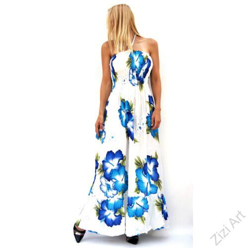 hosszú, fehér, pink, kék, színes, virágos, romantikus, női, ruha, kényelmes, szellős, divat, bohém, extravagáns, trend