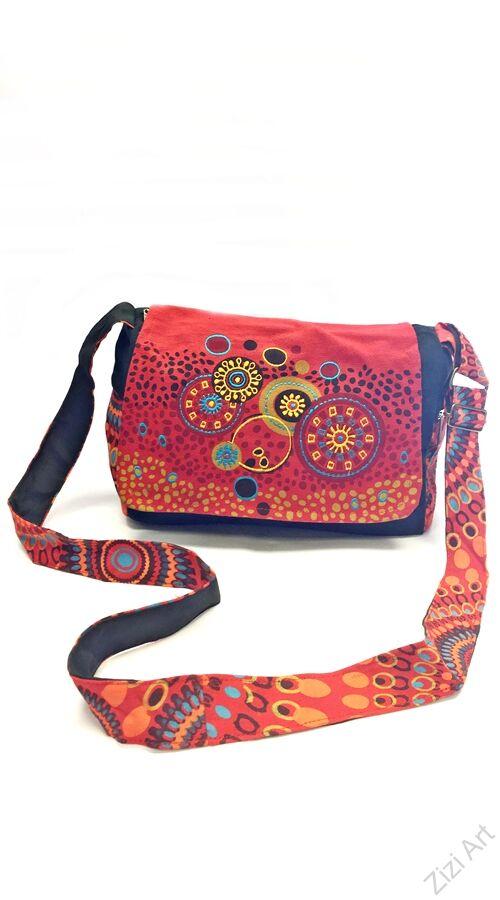 349c793ebd91 textil, táska, válltáska, kék, piros, fekete, kiwi, zöld, Katt rá a  felnagyításhoz